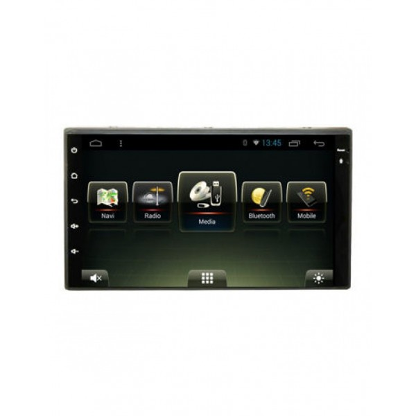 "RADIO 2DIN 7"" DVD GPS USB BLUETOOTH A2DP ANDROID UNIVERSAL"