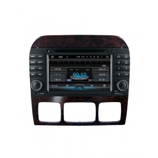 RADIO DVD GPS USB BLUETOOTH A2DP ANDROID MERCEDES CLASSE S W220
