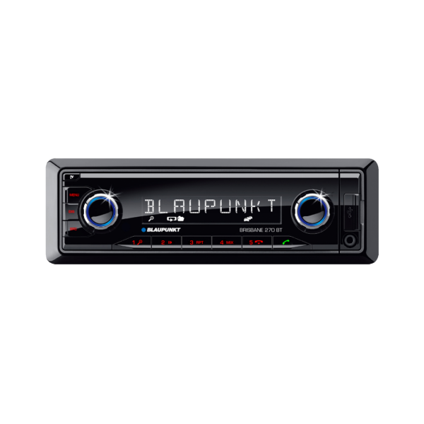 RADIO RDS USB AUX SD MP3 BLUETOOTH A2DP BLAUPUNKT BRISBANE 270BT