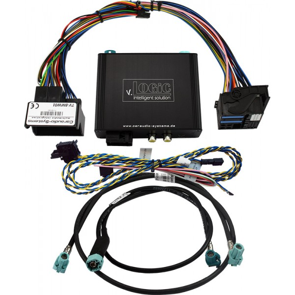BMW v.Logic Business CIC Interface Camara Frontal Traseira Serie 5 6 7 X3 F01 F02 F07 F10 F11 F12 F13 F18 F25