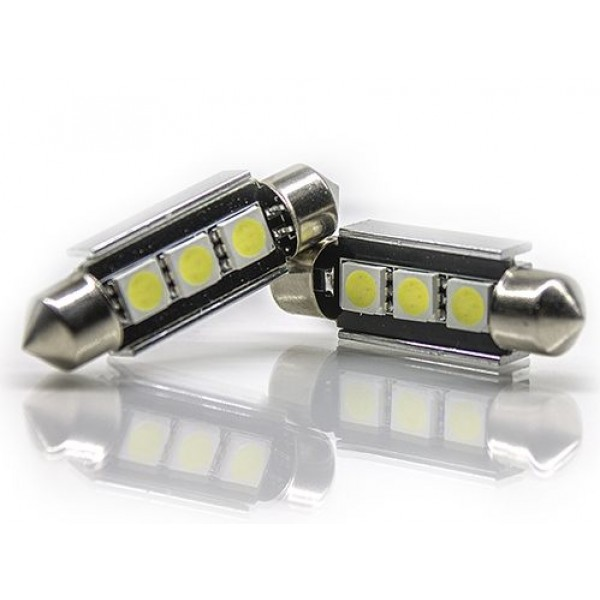 Lampada Led 42MM 3SMD Canbus Can Bus