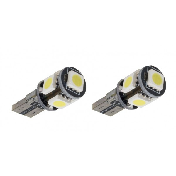 Lampada Led T10 5SMD Canbus Can Bus